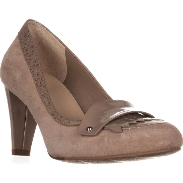 Cole Haan Braiden Loafer Heels, Maple Suger - 8.5 us