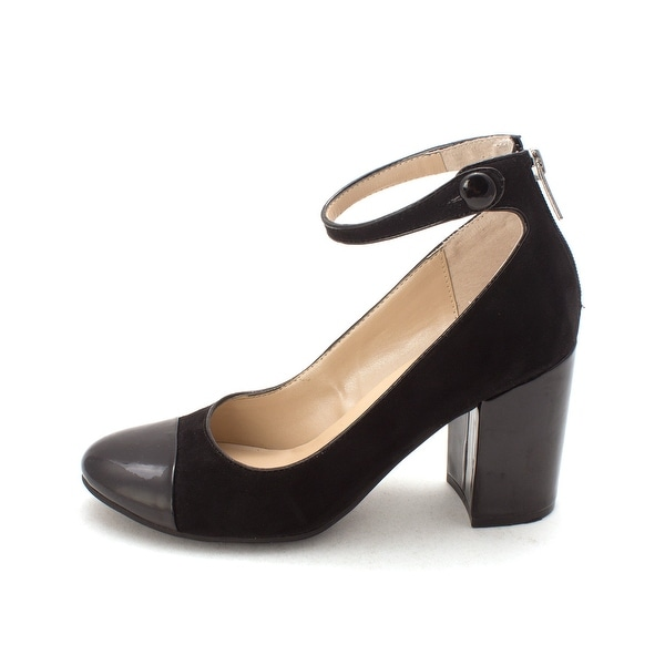Unisa Womens Stuwart Round Toe Ankle Strap Classic Pumps - 7