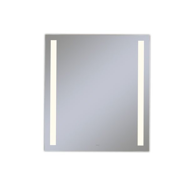 """Robern YM2440RCFPD3 Vitality 24"""" W x 40"""" H Rectangular Mirror with - Natural. Opens flyout."""