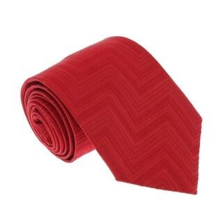 Missoni U4309 Red Chevron 100% Silk Tie - 60-3
