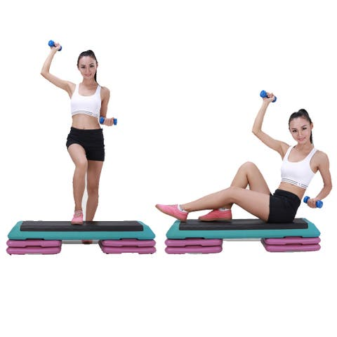 110 x 40 x 21cm Gym Home Used Aerobic Exercise Gymnastics Fitness Board with Pallets