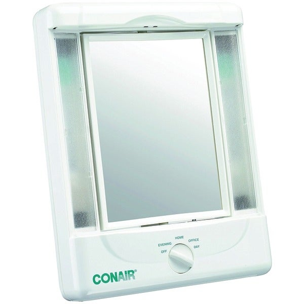 Shop Conair Tm8lx3 2 Sided Makeup Mirror With 4 Light