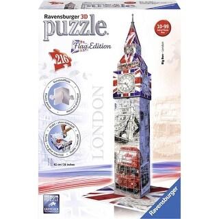 Big Ben Flag Edition 216 Piece 3D Puzzle
