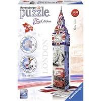 Big Ben Flag Edition 216 Piece 3D Puzzle, England by Ravensburger