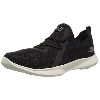 Skechers Womens Serene Tranquilty Low Top Lace Up Running Sneaker