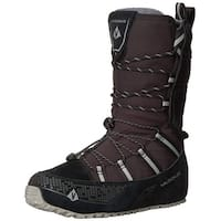 Use-Custom-Brand Womens Lost 40 Leather Cap Toe Mid-Calf Cold Weather Boots