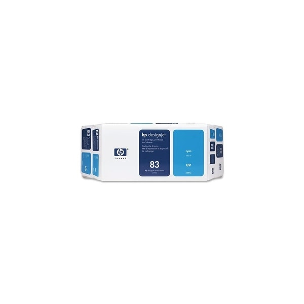 HP 83 Ink Cartridge - Cyan (C5001A) (Single Pack)