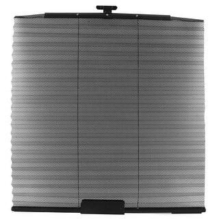 Unique Bargains Auto Car Window Side Folding Sun Shade Mesh Cover Curtain 460 x 600mm