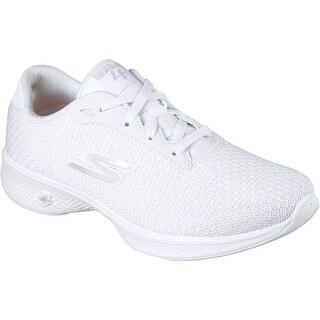 Skechers Women's GOwalk 4 - Glorify, Walking, White