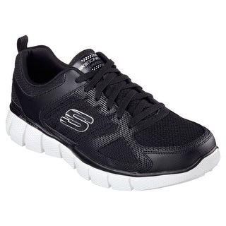 Skechers 51532 BKW Men's EQUALIZER 2.0 - ON TRACK Training