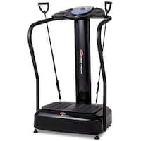 Goplus 2500W Crazy Fit Full Body Vibration Platform Fitness Machine w MP3 Player