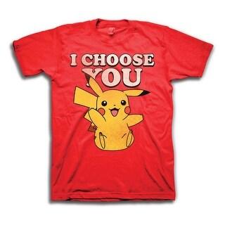 Pokemon Men's Pikachu I Choose You T-Shirt