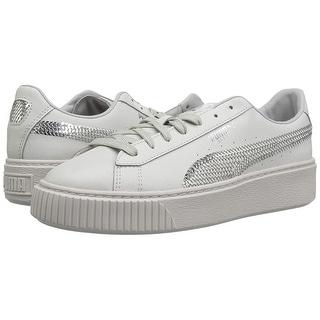 huge discount 130f3 b91be Shop PUMA Kids' Basket Platform Tween Sneaker - Free ...