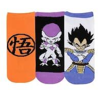 Dragon Ball Z Kane Low Cut Socks, 3-Pack
