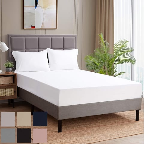 Sweet Home Collection 1500 Series Microfiber Fitted Sheet