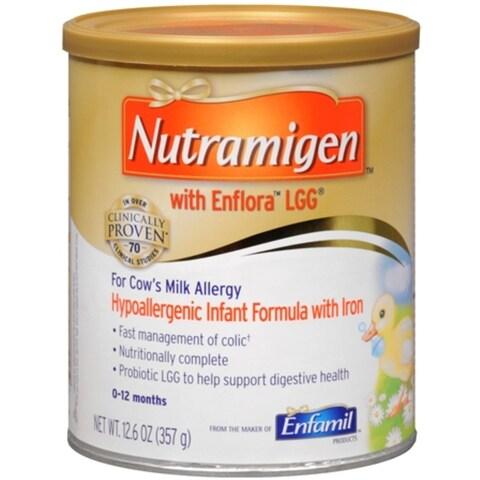Enfamil Nutramigen LIPIL Formula With Iron Powder 12.60 oz
