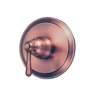 Danze D562057T Thermostatic Valve Trim with Lever Handle From the Opulence Collection (Less Valve)