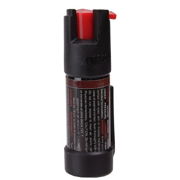 Style PP02 - Pepper Spray with Pen Clip (0.5 oz) - Black