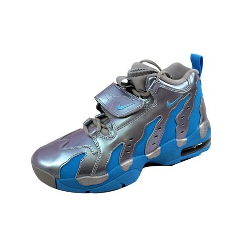 Nike Grade-School Air DT Max  96 Metallic Silver Vivid Blue-Black 5f3cc1289