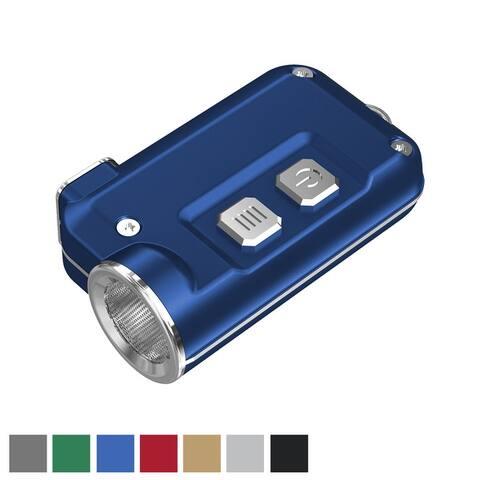 NITECORE TINI 380 Lumen Small USB Rechargeable LED Keychain Flashlight