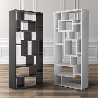 Link to Furniture of America Tribeca Bookcase/Display Cabinet Similar Items in Bookshelves & Bookcases