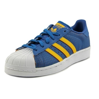 Adidas Superstar    Round Toe Leather  Sneakers
