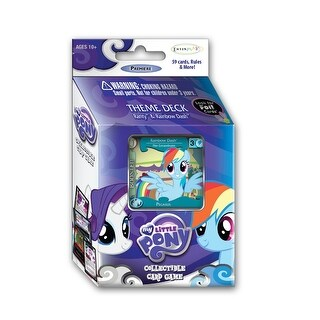 My Little Pony: Collectible Card Game Odysseys Rarity & Rainbow Dash Theme Deck