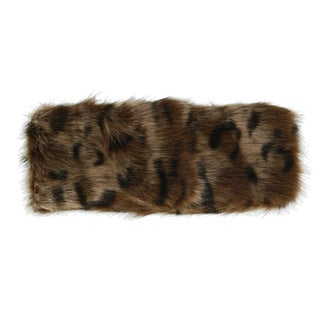 Pia Rossini Women's Faux Fur Headband with Fleece Lining - One size