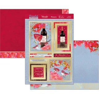 A Special Anniversary - Hunkydory Moments & Milestones A4 Topper Set