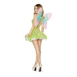 Roma Costume Womens Feisty Fairy Halloween Party Fairy Costume