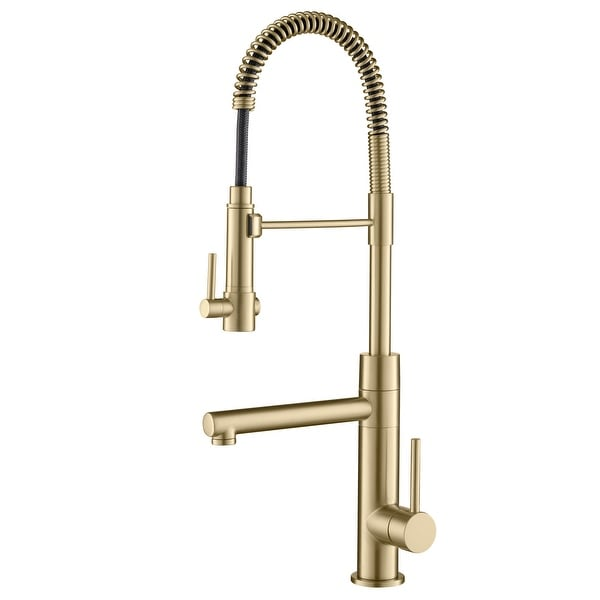 Kraus Artec 2-Function Commercial Pulldown Pot Filler Kitchen Faucet. Opens flyout.