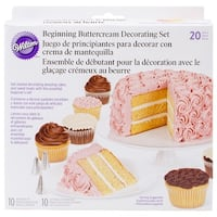 Beginning Buttercream Decorating Set 20pcs-