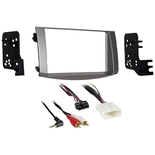 Metra 95-8215S 2005-2010 Toyota(R) Avalon Double-Din Installation Kit, Silver