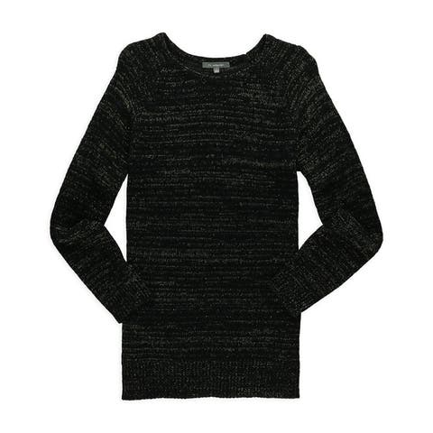Ny Collection Womens Be Festive Knit Sweater
