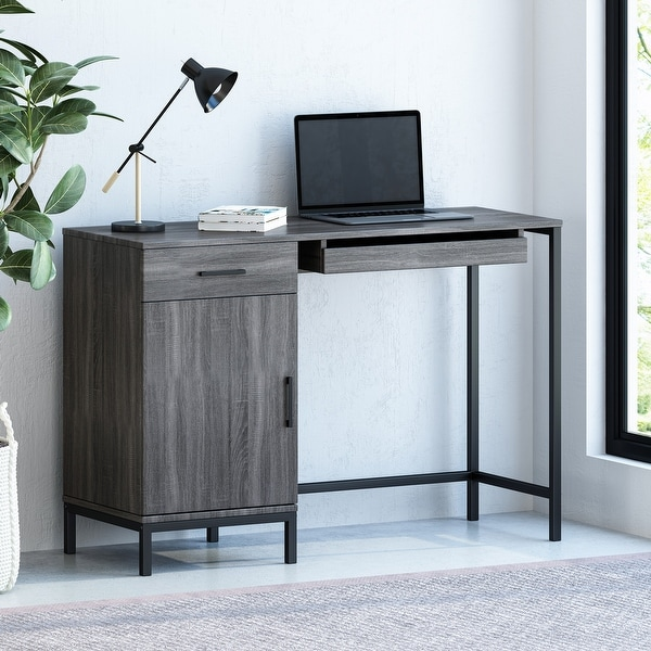 Gallaudet Faux Wood Computer Desk by Christopher Knight Home. Opens flyout.