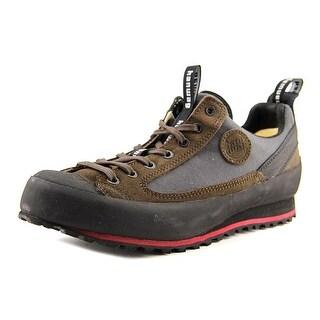 Hanwag Rotpunkt Men  Round Toe Leather Brown Hiking Shoe