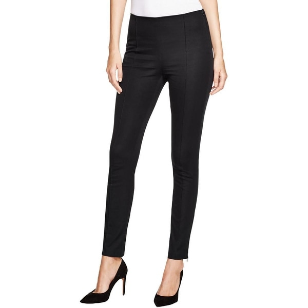 MICHAEL Michael Kors Womens Hutton Skinny Pants Twill Stretch