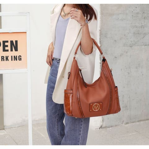 Mkf Collection Eden Hobo 2 Pcs Bag With Wallet By Mia K