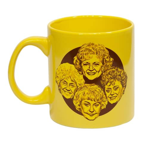 "Golden Girls ""Stay Golden"" 20oz Coffee Mug - Yellow"