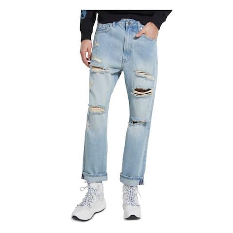 GUESS Mens Blue Jeans 33