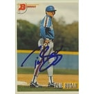 Tim Bogar New York Mets 1993 Bowman Autographed Card  This item comes with a certificate of authent