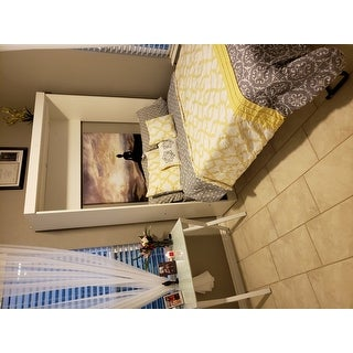 Pur by Bestar Full Wall Bed with Storage Unit