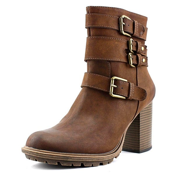 Seven Dials Scooter Women Round Toe Synthetic Ankle Boot