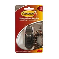 Command FC12-ORB Forever Classic Small Metal Hook, Oil-Rubbed Bronze