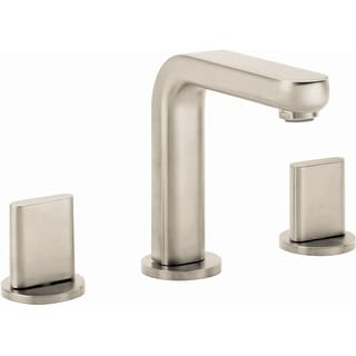 Hansgrohe 31063  Metris S 1.2 GPM Widespread Bathroom Faucet with EcoRight, Quick Clean, and ComfortZone Technologies - Drain