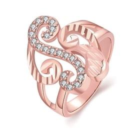 Musical Design Rose Gold Inspired Ring
