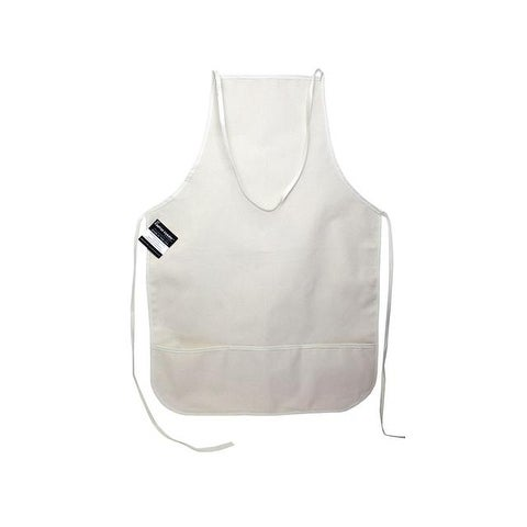 Mark Richards Blank Canvas Apron w/Pkt 19x28 Nat