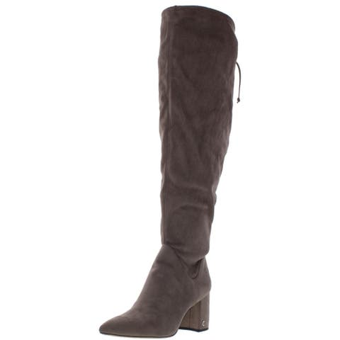 Circus by Sam Edelman Womens Thigh-High Boots Lace Back Signature
