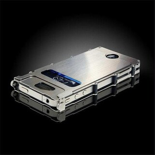 CRKT INOX4S iNox SS Case for iPhone 4 and 4S - Silver