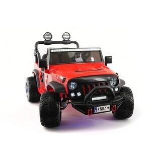 Explorer 12V Kids Ride-On Car Truck with R/C Parental Remote